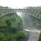 Bungee Jumping at Vistoria Falls