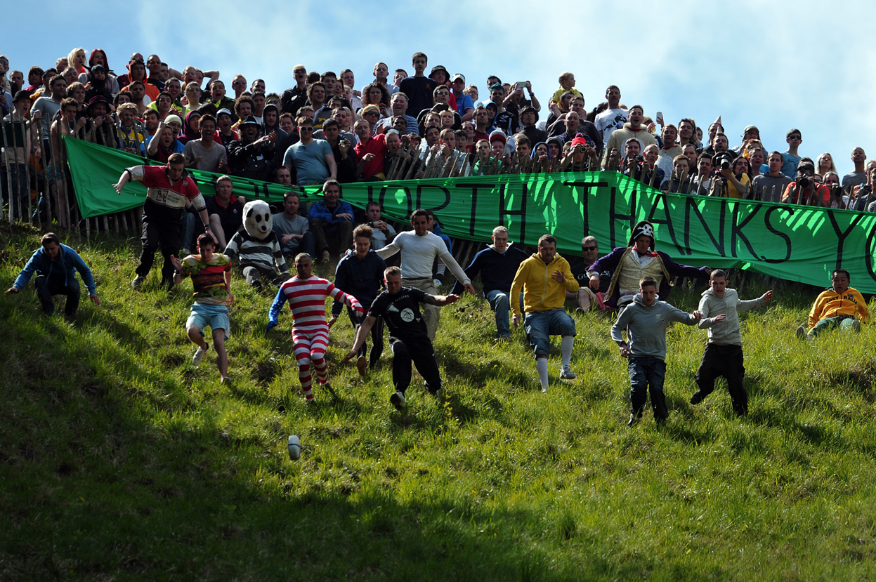 Cooper's Hill Cheese Rolling, England