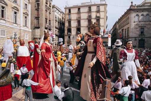 Festes de la Merce, Barcelona, Spain