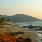 Hot travel destinations.  India, Goa
