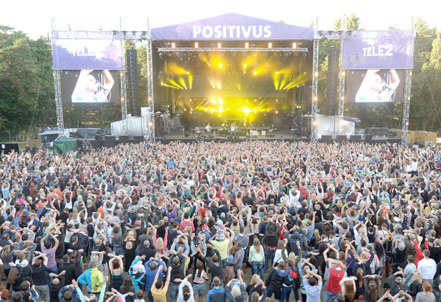 Positivus, Latvia