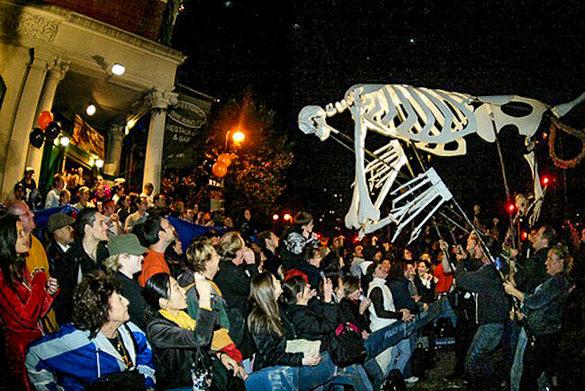 The Village Halloween Parade