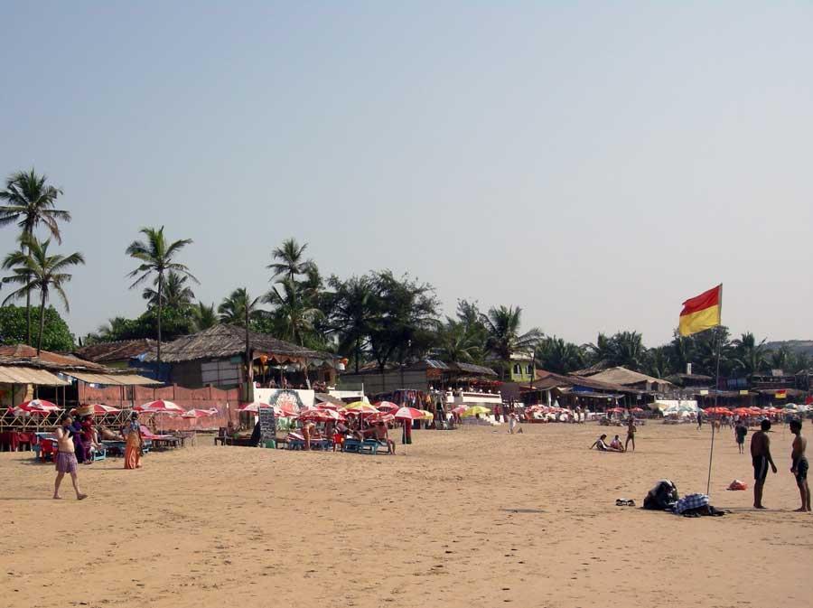 Arambol Beach, Marjim Beach, Baga Beach