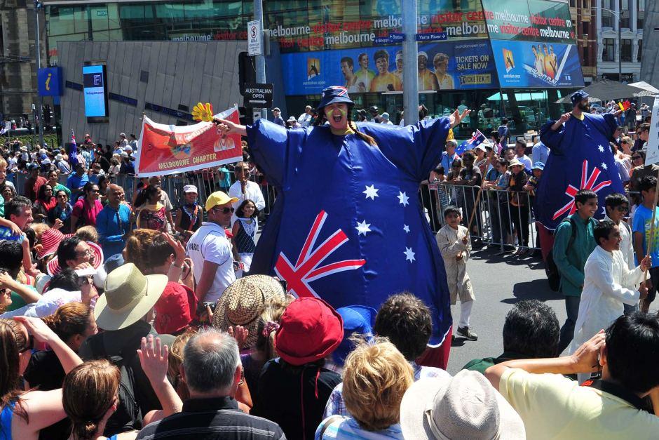 Australia Day, Melbourne , Australia