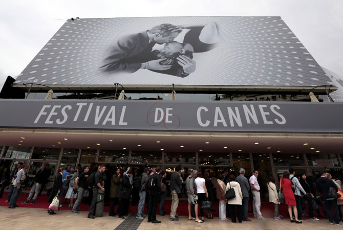 Cannes film festival, Cannes, France