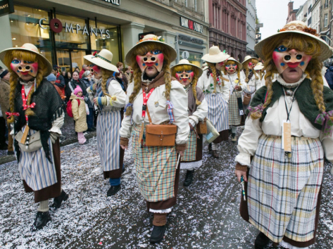 Fasnacht, Switzerland