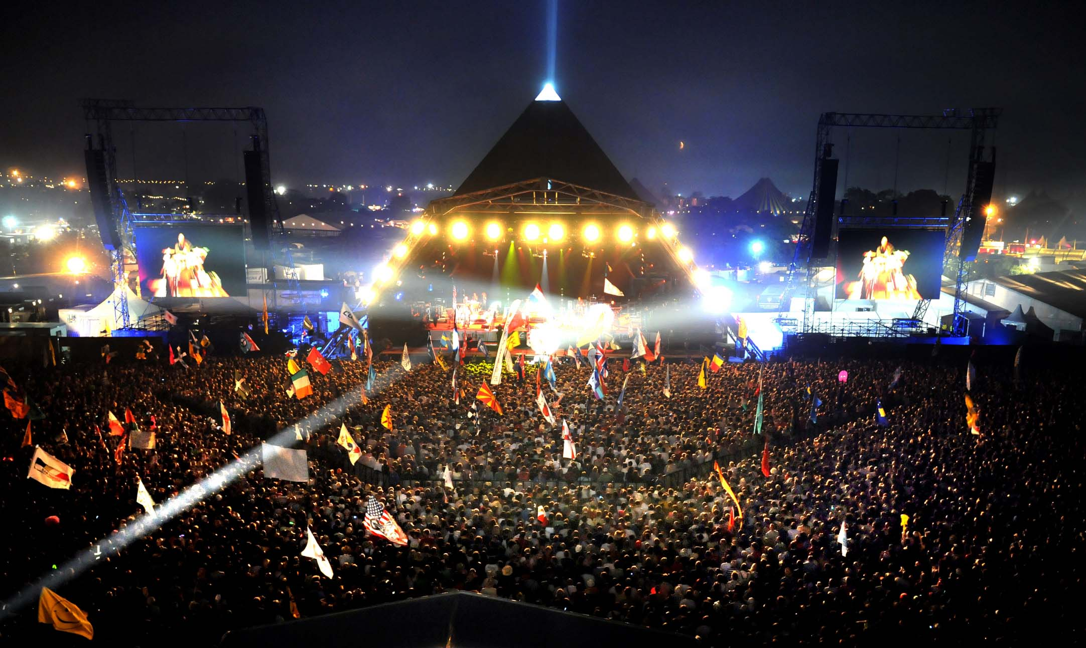 Glastonbury Music Festival, England