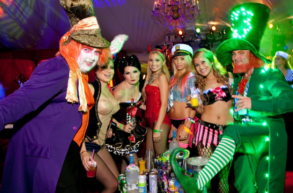 Halloween Party at the Playboy Mansion