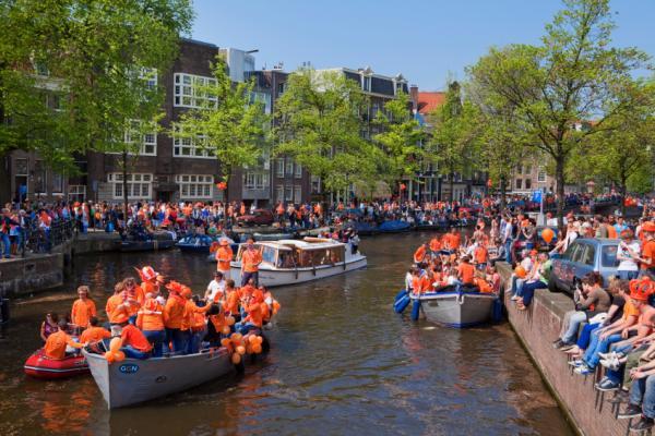 Koninginnedag, The Netherlands