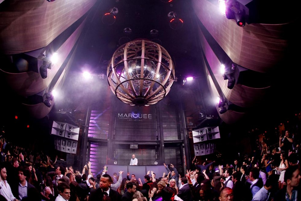 Las Vegas Marquee Club, Nightlife