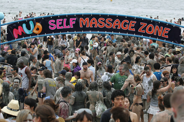 Boryeong Mud Festival, Boryeong, South Korea