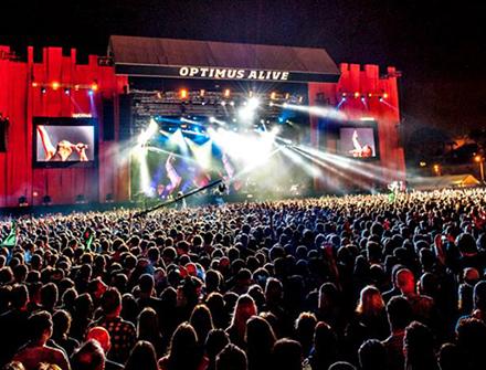 Optimus Alive, Portugal