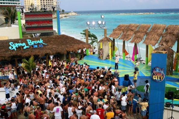 Spring Break, Cancun, Mexico