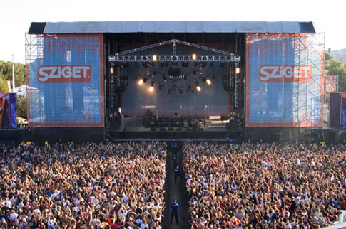 Sziget Festival, Budapest, Hungary